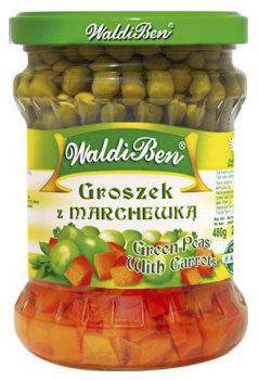 Groszek z marchewką