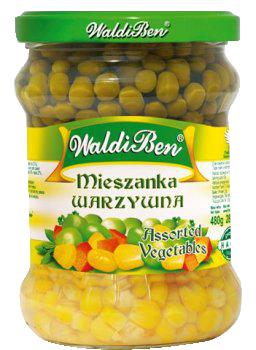 Mieszanka warzywna